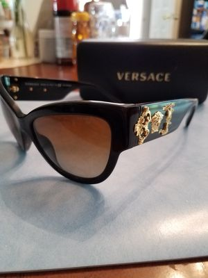 Versace designer sunglasses with leather case for Sale in Chapin, SC