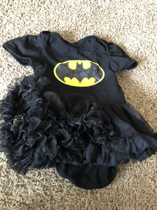 Batman dress infant