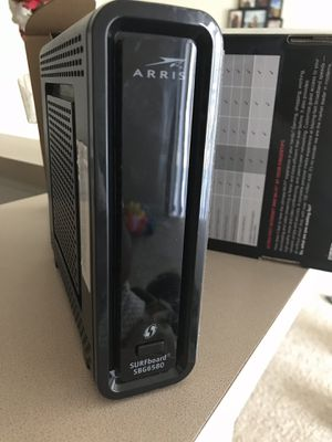 Arris cable modem and wifi router for Sale in Peoria, IL