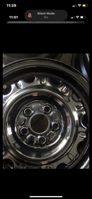 Black steel rims for Sale in El Cajon, CA