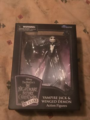 Nightmare Before Christmas Vampire Jack and Winged Demon action figure New for Sale in Miami, FL