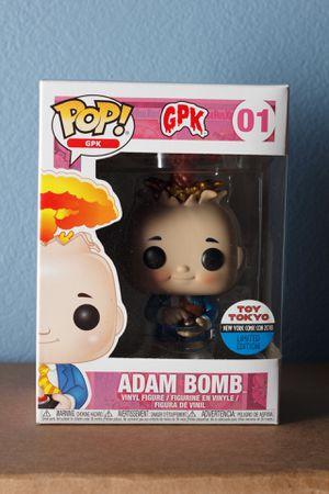 Funko Pop! Adam Bomb Metallic Figure #01 Toy Tokyo NYCC 2018 for Sale in San Leandro, CA
