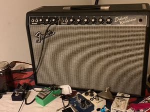 Fender deluxe reverb '65 reissue for Sale in Hemet, CA