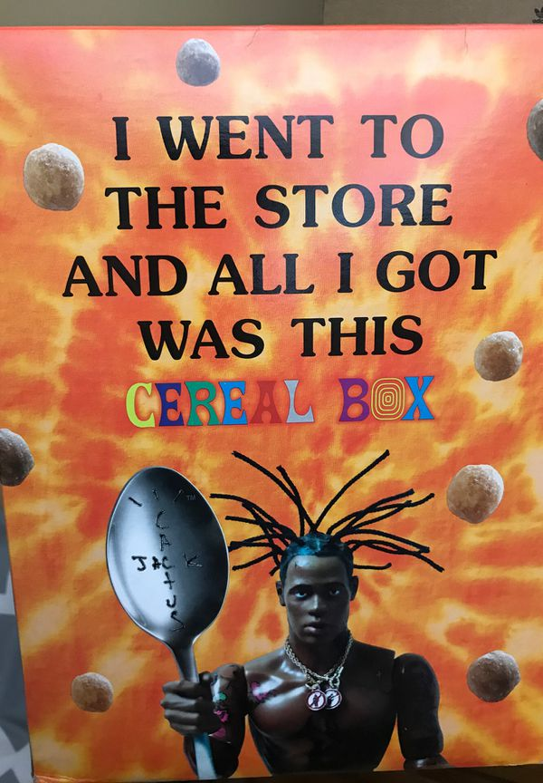 Travis scott reeses puffs regular and Family size brand new unopened