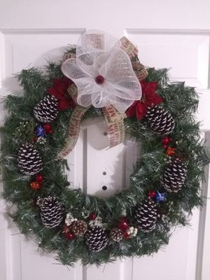 Hand crafted Christmas wreath for Sale in MONTGOMRY VLG, MD