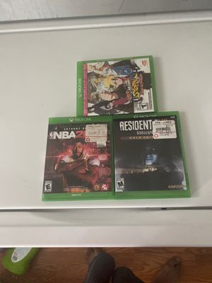 Xbox one games pick up now will trade or Negotiate to $20 for Sale in Baltimore, MD