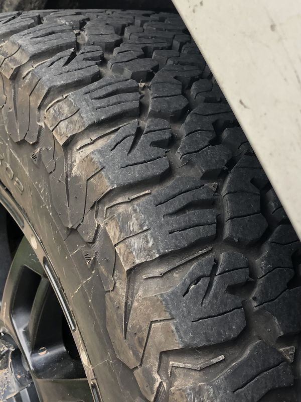 Tires only Goodrich 285/55R20 set of tires
