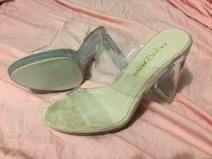 Fashion Nova Clear Heels for Sale in Lockhart, TX