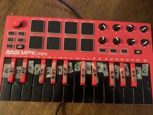 Akai mpk mini mk2 midi controller for Sale in Escondido, CA