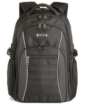 Kenneth Cole Reaction Triple Compartment 17.3″ Laptop Backpack, Black for Sale in Virginia Beach, VA