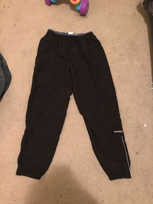 Reebok Classic Track Pants Size Large Color Black for Sale in Brooklyn, NY