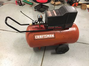 Craftsman 5.5hp 30gal 120v air compressor for Sale in Pataskala, OH
