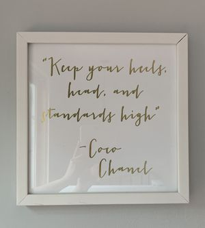 Wall Art - Framed Quote for Sale in Cambridge, MA