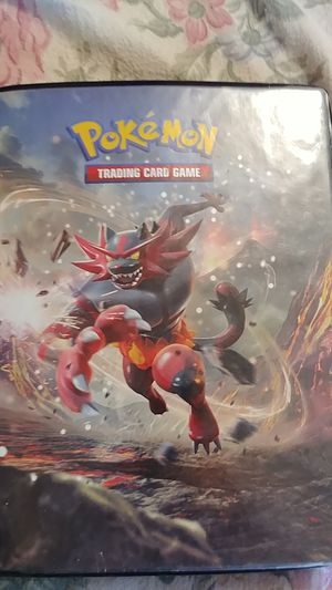 Pokemon trading book for Sale in Stockton, CA