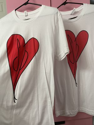 2 Smashing Pumpkins white t-shirts size small for Sale in Lawndale, CA