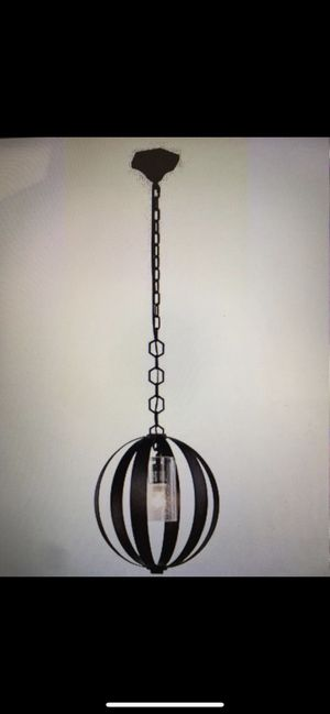 Elegant lighting serenity collection pendant lamp New still in box for Sale in Lakeside, CA