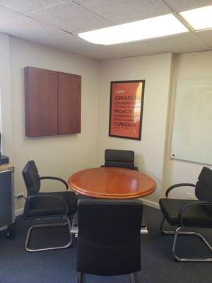 Office conference table set with chairs for Sale in Elmhurst, IL