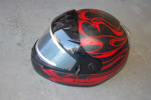 snowmobile helmet Polaris NEW red size M full face 57-58 cm see notes for Sale in Elk Grove, CA
