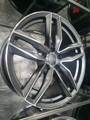 PRICE PER WHEEL 19X8 AUDI RS6style rims fits audi a4 a6 vw gold jetta wheels for Sale in Tempe, AZ
