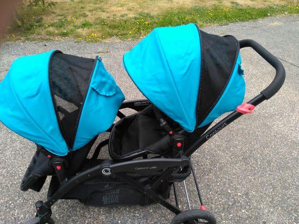 Cotours Options Elite double stroller