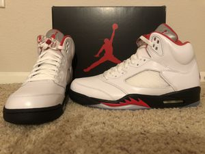 Air Jordan 5 Fire Red size 10 Brand new with box. for Sale in Santa Clarita, CA
