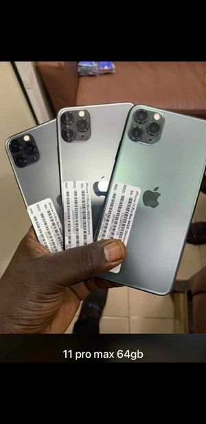 iPhone 11 pro max unlock 128gb for Sale in Los Angeles, CA