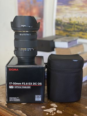Sigma 17-50mm F2.8 OC for Canon for Sale in San Francisco, CA