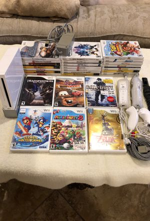Nintendo Wii with 27 games for Sale in San Juan Capistrano, CA