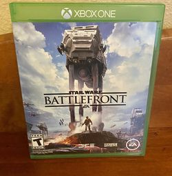 XBOX ONE Star Wars Battlefront Game for Sale in North Bend,  WA