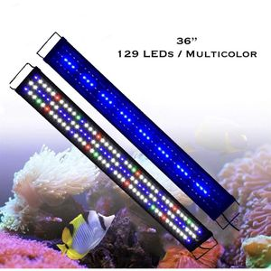 "36"" Full Spectrum LED Aquarium Light Reef Coral Marine Fish Tank Light for Sale in Ontario, CA"