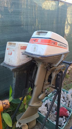 Outboard motors 6 horse and or 9 horse for Sale in San Diego, CA