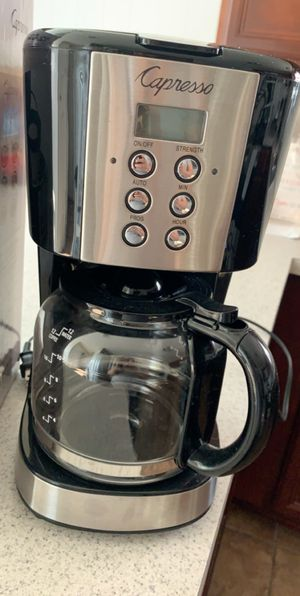 Capresso coffee maker for Sale in La Vergne, TN