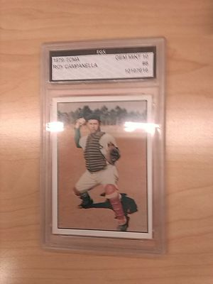 Roy Campanella Graded Baseball Card for Sale in Kissimmee, FL