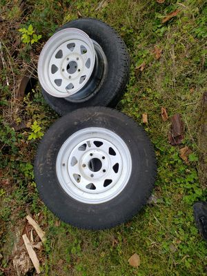"15"" 5x5 trailer rims for Sale in Snohomish, WA"