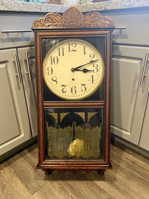 Antique New Haven wall clock for Sale in Cape Coral, FL