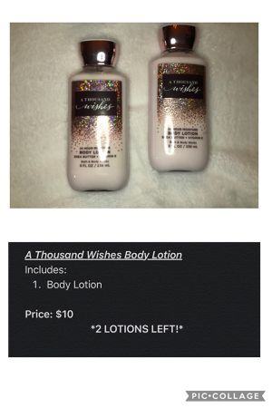 A Thousand Wishes Body Lotion for Sale in Oakland, CA