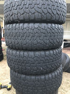 Bf Goodrich LT 315/70/17 set of 4 tires for Sale in Stockton, CA