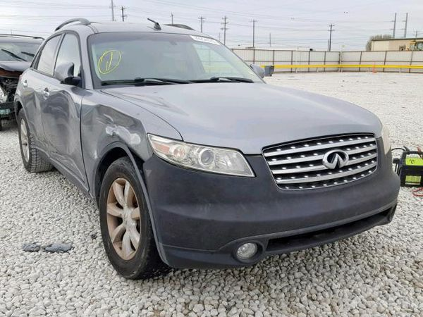 2005 INFINITI FX35 for parts parting out