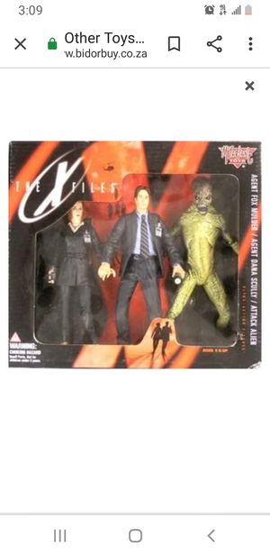 1997 X-Files Action Figure New for Sale in Baltimore, MD