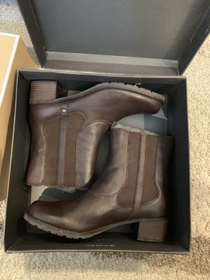 New. Kenneth Cole reaction Leather Ankle boots size 8 for Sale in Charlotte, NC