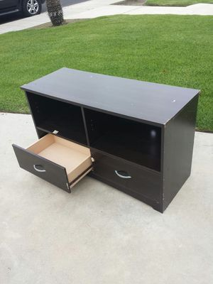 Short TV Stand Cabinet With Drawer for Sale in Clovis, CA