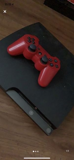 PS3 w/ controller for Sale in Washington, DC