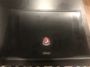 MSI Gaming Laptop for Sale in Plattsburgh, NY