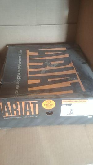 Ariat mens 8.5D steel toe camo boots for Sale in Farmington, IL