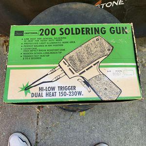 Vintage Sears Craftsman Model 200 Soldering Gun in Original Box from 1977 for Sale in Dayton, OH