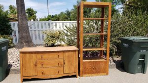 Wood cabinet and dresser for Sale in El Cajon, CA