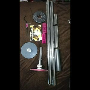 Spinning Dance Pole With LED Lights for Sale in Riverside, CA