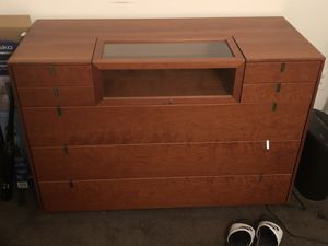 Dresser with Display for Sale for Sale in Philadelphia, PA