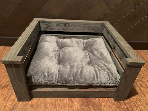 Wood Dog Bed