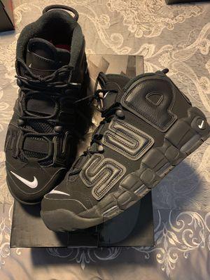 Nike supreme uptempos for Sale in Falls Church, VA